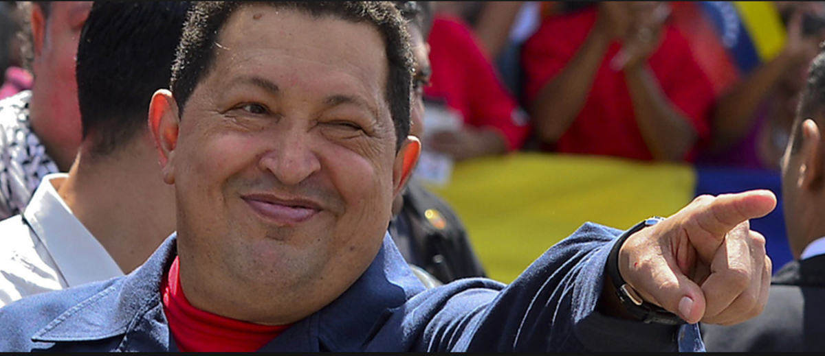 Hugo Chavez was identified as Venezuela's most popular president by 79% of respondents in Hinterlaces' poll. (chavez.org)