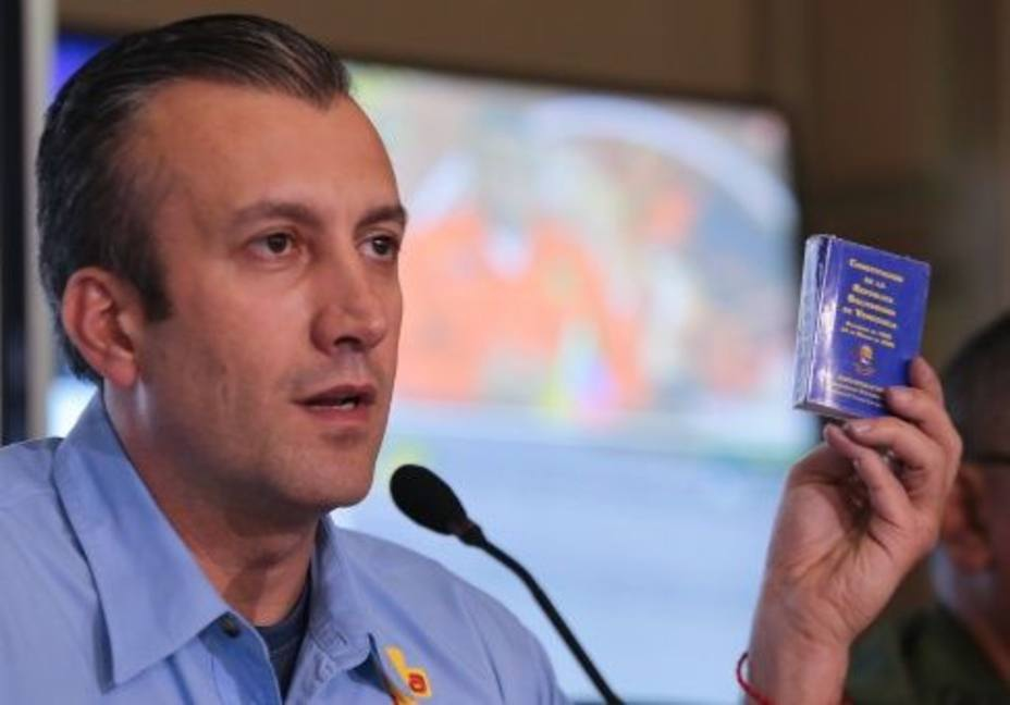 Venezuelan VP Tareck El Aissami. (Archive)