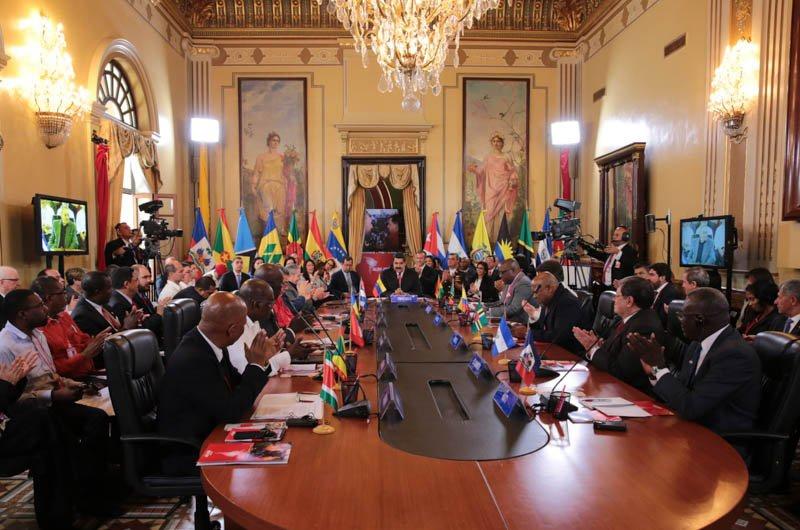 ALBA's 14th summit in Caracas. (AVN)