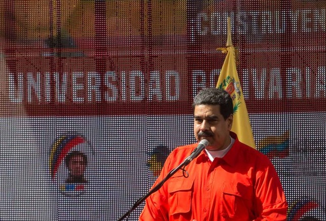 "President Maduro denounces the presence of ""traitors"" in the ranks of the revolution. (Prensa Presidencial)"