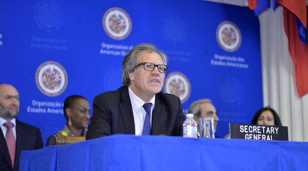 OAS Secretary General Luis Almagro. (AgendaPais)