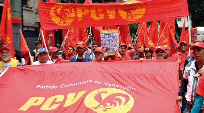 Founded in 1931, the PCV is Venezuela's oldest socialist organization. (La Tribuna Popular)