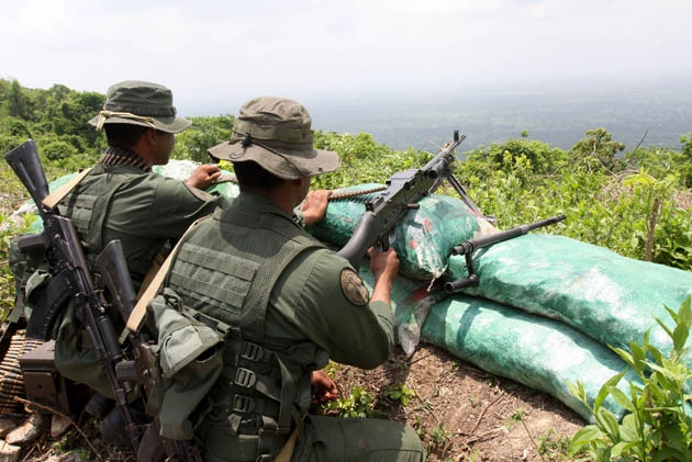 The porous, rugged Venezuela/Colombia border has long been a cause of tension between the two neighbours, and has repeatedly been closed since 2015.  (Henry Tesara/AVN)