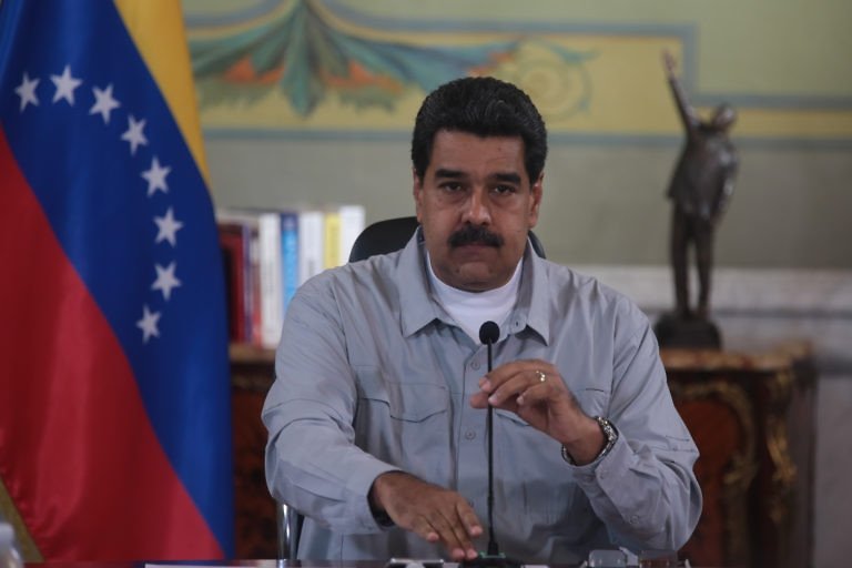 President Maduro addressed the Venezuelan nation on Sunday. (Prensa Presidencial)