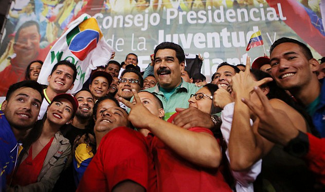 President Nicolas Maduro. (Ciudad Caracas)