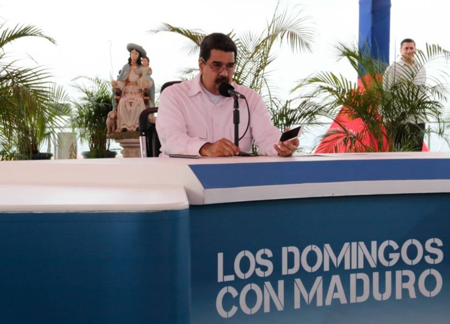 President Maduro called for regional and local elections on Sunday. (@PRESIDENCIALVEN)