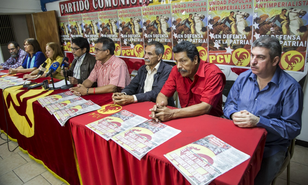 "The PSUV, PPT and REDES say they are forming a ""program of joint struggle"". (Contrapunto)"
