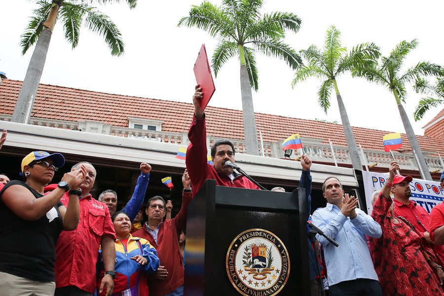 President Nicolas Maduro announced the details of the ANC electoral process this past Tuesday. (Prensa Presidencial)