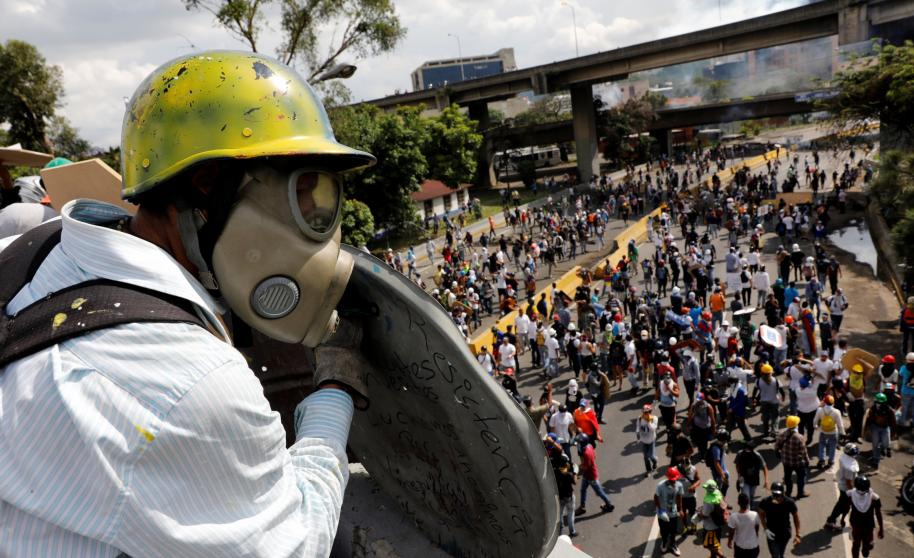 Venezuela's current wave of unrest is the most deadly to have hit the country since 1989. (Reuters)