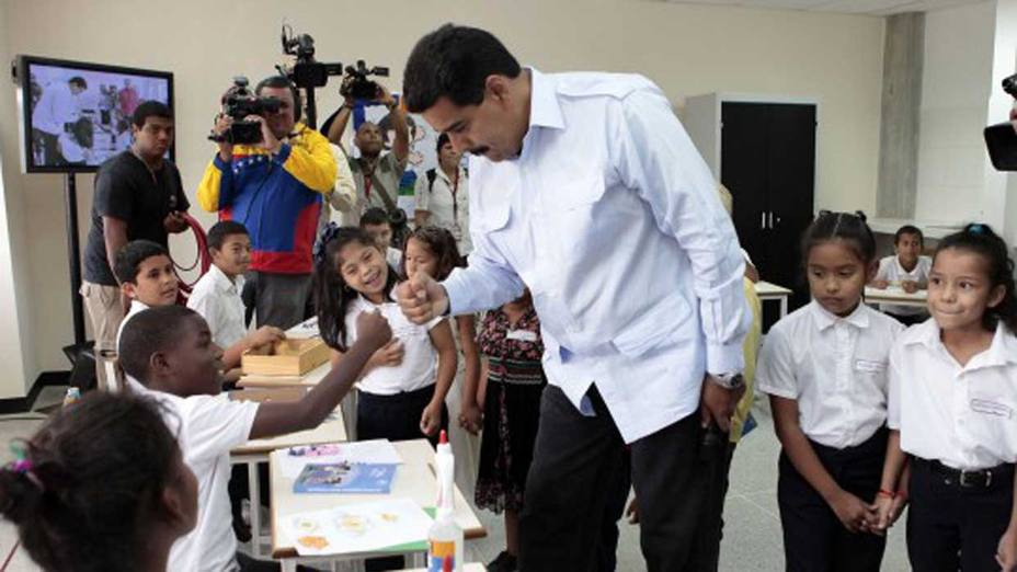 President Nicolas Maduro says the recent wage increases show his government's commitment to education. (Archive)