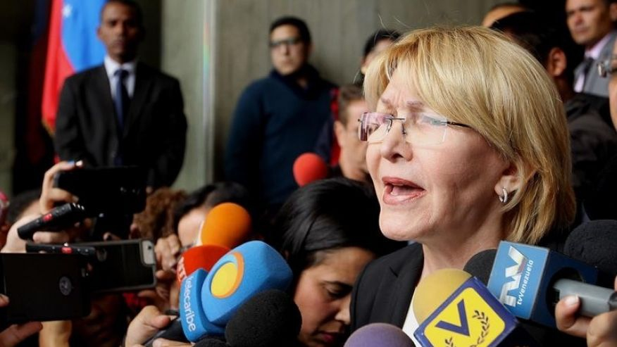 Attorney General Luisa Ortega has accused President Nicolas Maduro of undermining the legacy of his predecessor, Hugo Chavez. (EFE)