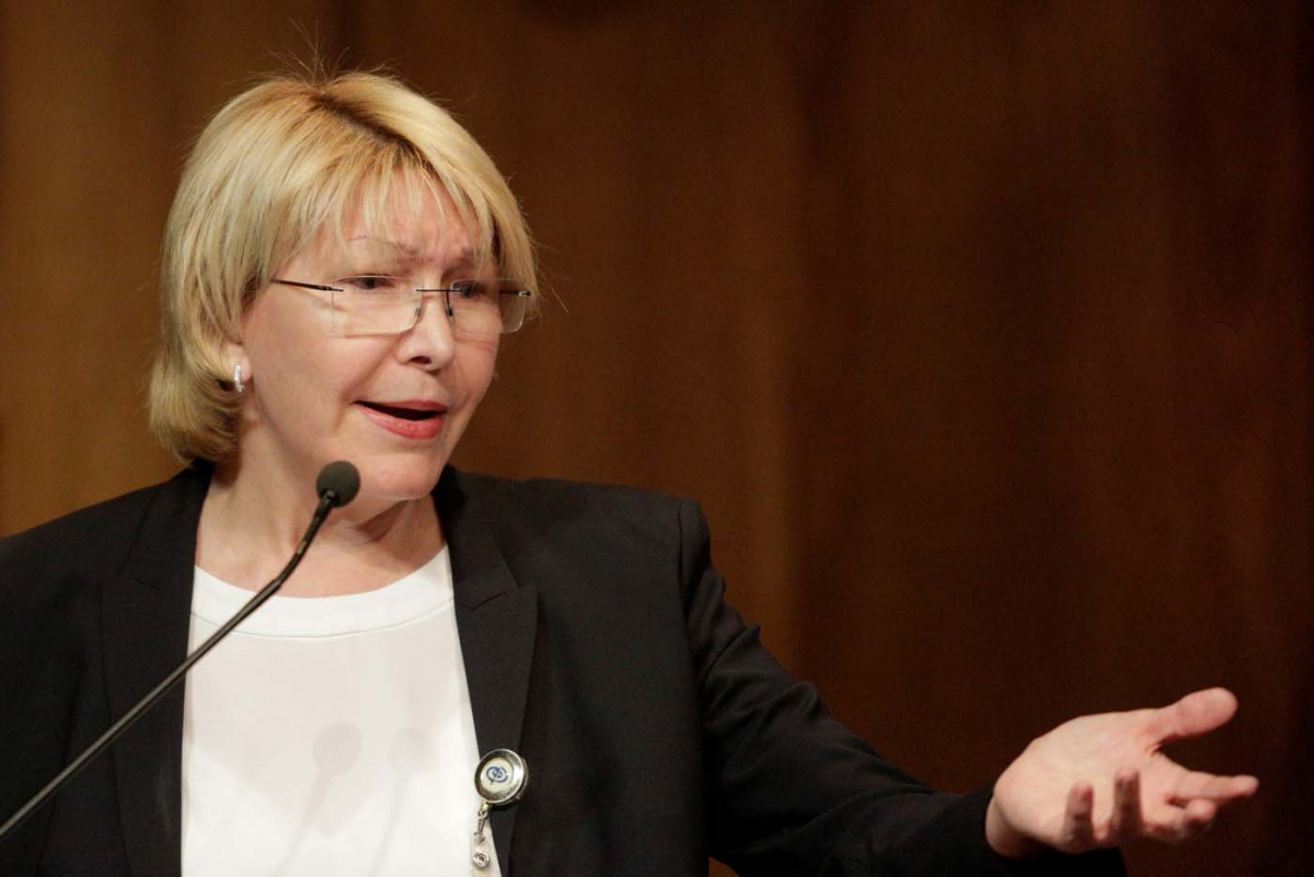Venezuela's chief prosecutor, Luisa Ortega, has filed a motion to remove 33 Supreme Court judges. (Reuters).