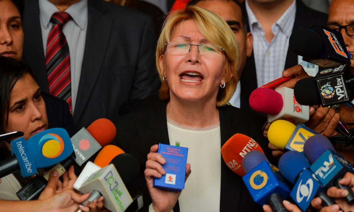 Venezuelan Attorney General Luisa Ortega Diaz. (Luis Robayo/AFP/Getty Images)