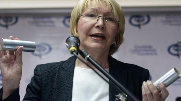 Attorney General Luisa Ortega Diaz has questioned whether Venezuela's participatory democracy is in decline. (AFP)