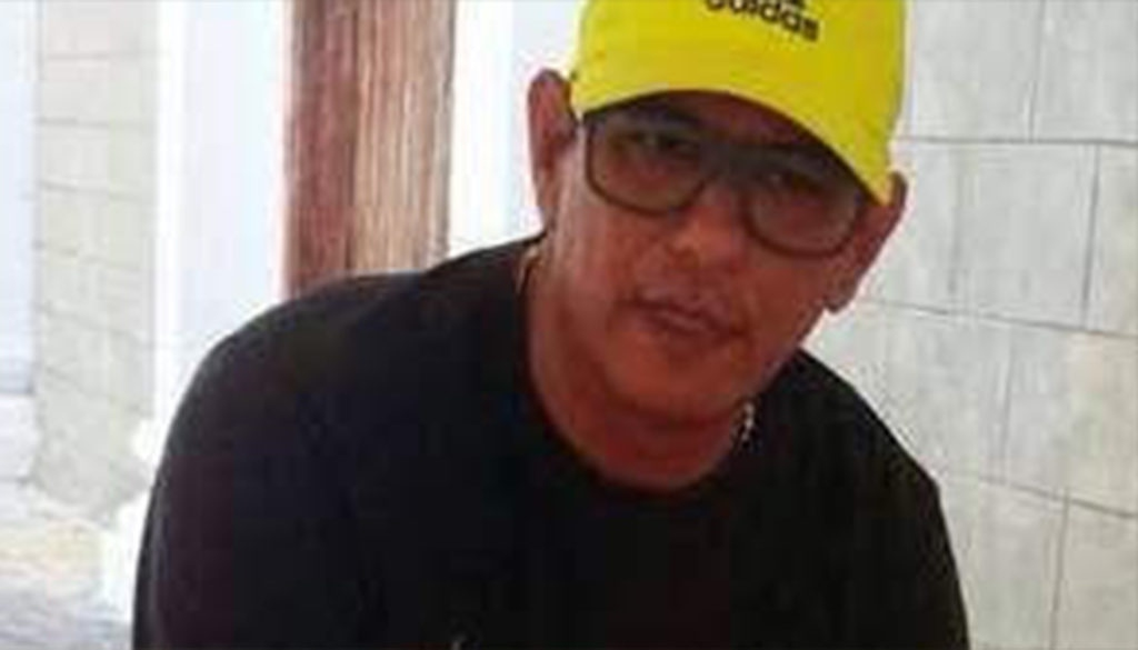A prominent member of Voluntad Popular, Jose Santiago Molleton Quintero was killed in Bolivar state by an unknown attacker. (Handout)