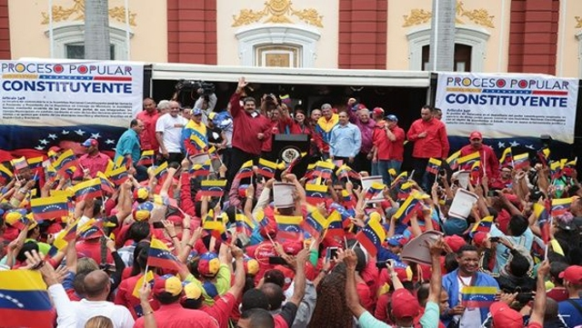 Venezuelan President Nicolás Maduro called for a Constituent Assembly on May 1st, 2017 (AVN)