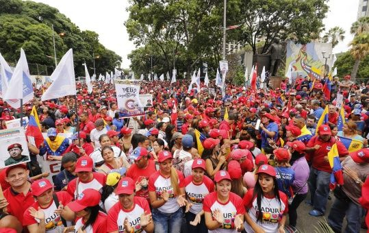 Venezuela's grassroots have largely welcomed the ANC. (AVN)