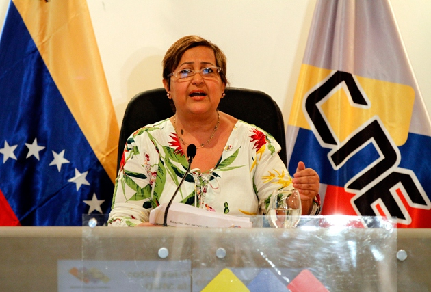 CNE head Tibisay Lucena confirmed Thursday that regional elections will take place on December 10. (AVN)