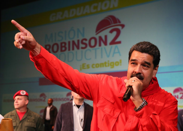 Maduro announced the minimum wage increase on Sunday. (Prensa Presidencial)
