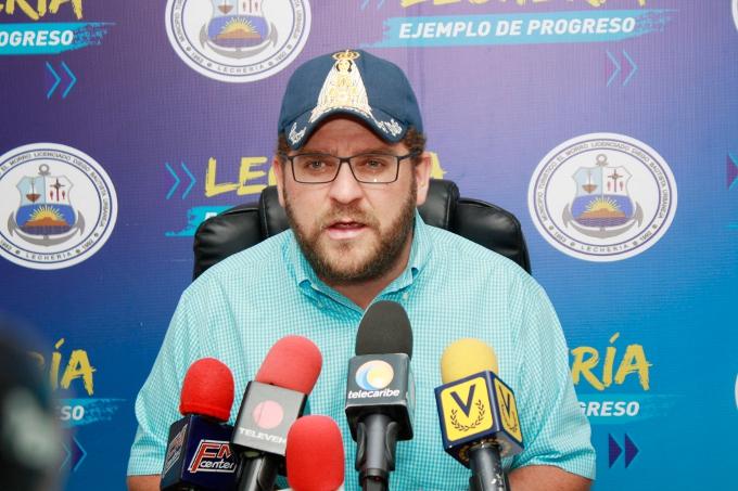 Gustavo Marcano, mayor for Lecheria, Anzoátegui state. (Lecheria.gov.ve)