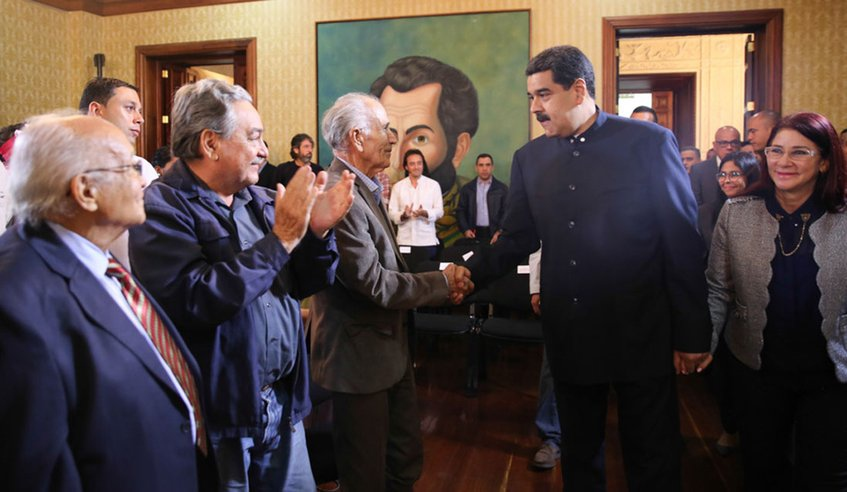 Venezuelan President Nicolas Maduro has stated the truth commission's mandate will be extended under the national constituent assembly. (Handout/MINCI)