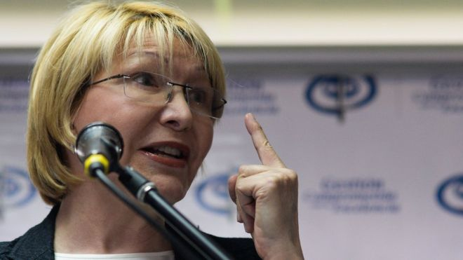 Venezuela's Attorney General Luisa Ortega is locked in a protracted legal battle with the Supreme Court. (AFP)