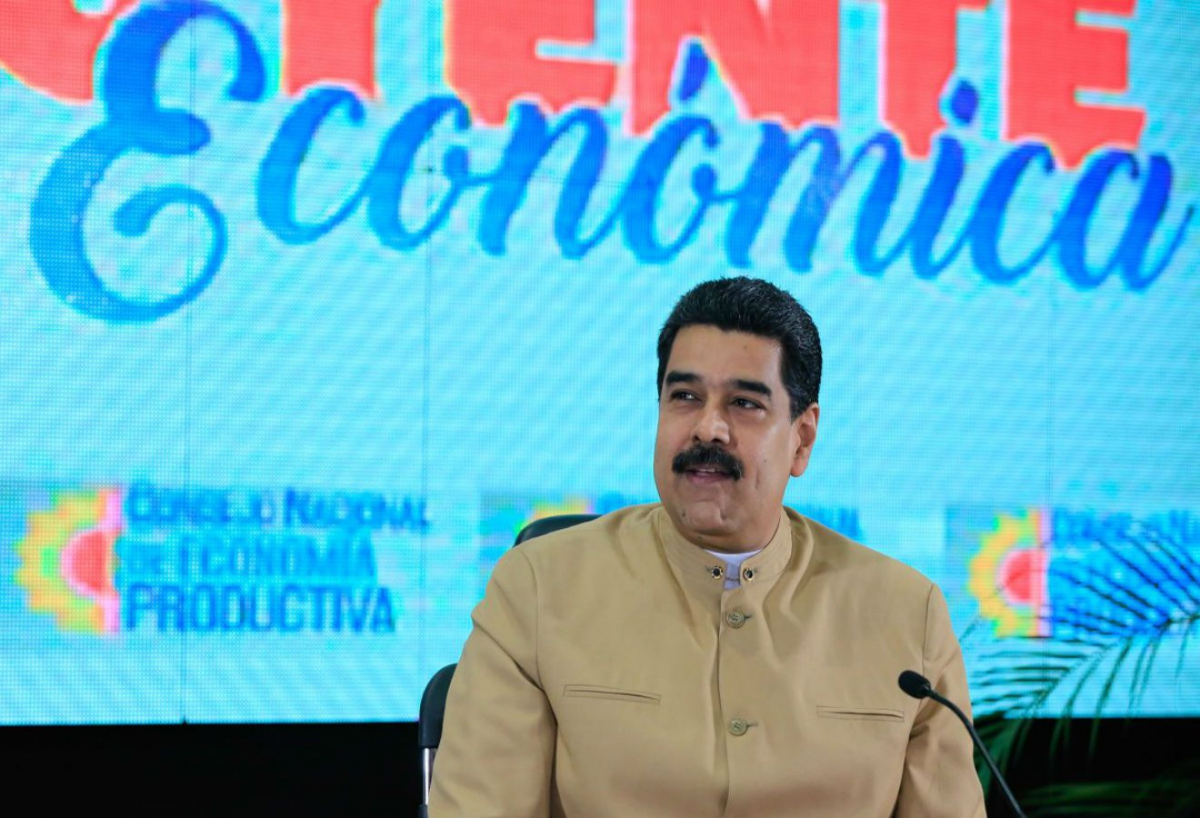 President Nicolas Maduro announced the agreements on Friday. (Prensa Presidencial)