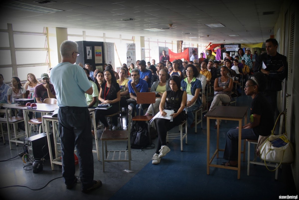 Agroecologist and Activist Prof. Miguel Ángel Núñez calls for environmental rights and responsibilities. (Photo credit: Nicanor Cifuentes Gil)