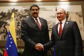 Nicolas Maduro (left) with Russian President Vladimir Putin. (Archive)