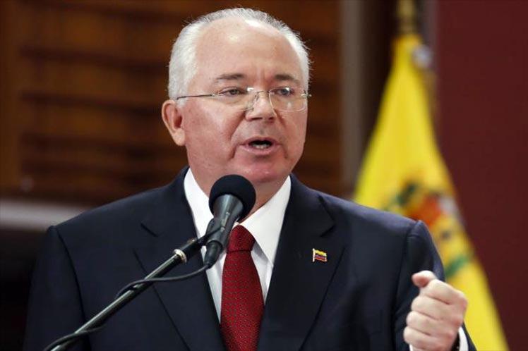 Venezuela's UN ambassador, Rafael Ramirez. (Archive)