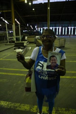Nanci of Proletarios Unios in Barquisimeto, Lara state