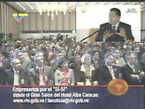 Chavez speaking at forum of employers in support of constitutional reforms (VTV)
