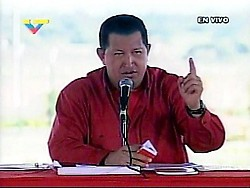 """Chavez says he is putting relations with Colombia """"in the freezer"""" (VTV)"""
