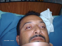 Injured Sidor worker (Allianza Sindical)