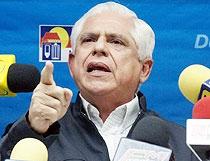 UNT President Omar Barboza (El Tiempo)