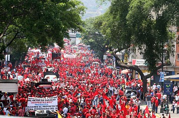 Hundreds of thousands of workers celebrate May Day in Venezuela (ABN)