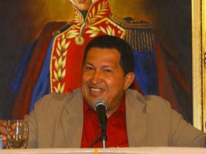 President Hugo Chávez and other government officials said the text of the laws and the process by which they were passed are in line with the 1999 constitution.(Archive)