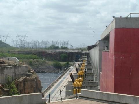 Hydropower plant in Guyana (Tamara Pearson)