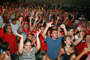 Delegates at the Founding Youth Congress of the PSUV