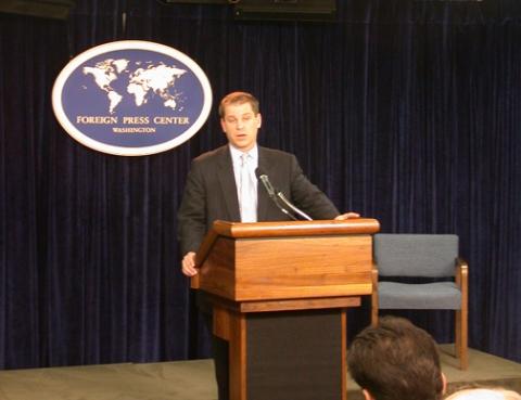U.S. State Department spokesperson Sean McCormack (Archive)