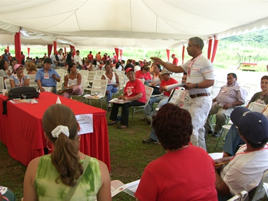 : A communal council in the community of Andres Eloy Blanco, state of Zulia.