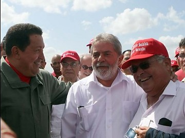 Chavez with Lula