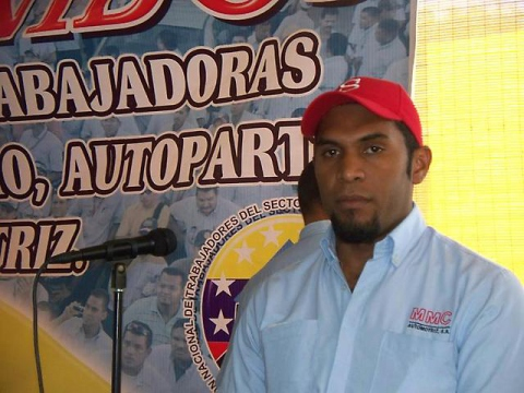 Felix Martinez, general secretary of the New Generation Union. (Aporrea)