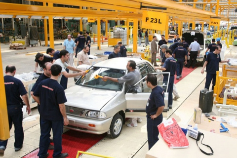 An automobile assembly plant in Venezuela (YVKE).