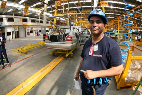 An automobile assembly plant in Venezuela (YVKE)