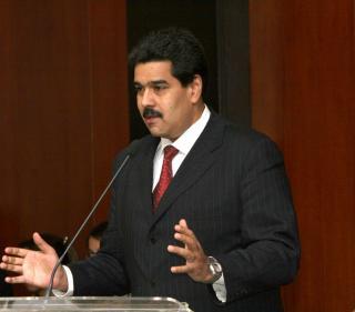 Venezuelan Foreign Relations Minister Nicolas Maduro (Ministry Website)