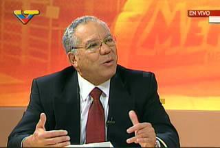 Germán Saltrón, Venezuela's human rights representative to the OAS (VTV)