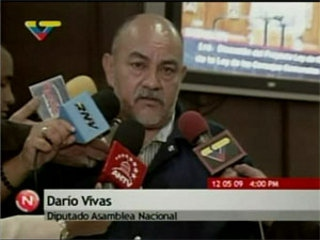 Dario Vivas, President of the Citizen Participation Commission  (VTV)