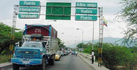 Simon Bolivar International Bridge on the Venezuela-Colombia Border (YVKE)