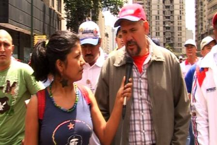 Electricity worker union leader Angel Navas recommended increased worker control to solve the electricity crisis (Marea Socialista)